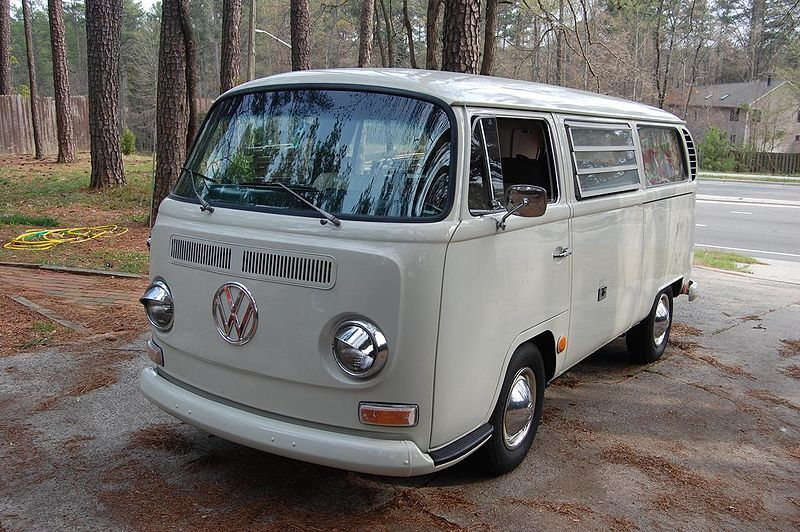 vw type 2  camper  van  pick-up  - 1970 model year