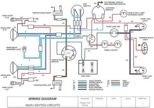 Morris_Lighting_sample_m old car wiring diagrams old discover your wiring diagram 1992 mini wiring diagram at edmiracle.co